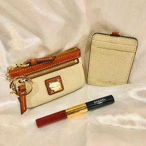 Dooney & Burke keychain change purse